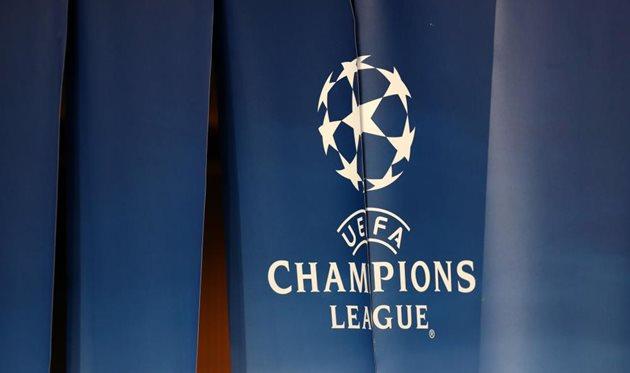 Логотип Лиги чемпионов, getty images