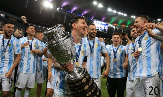 Футболисты сборной аргентины, GETTY IMAGES