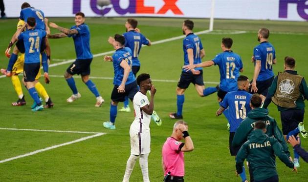 Англия - Италия, финал Евро-2020