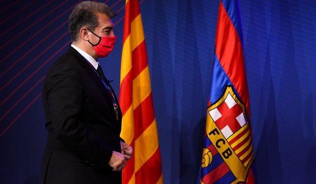 Жоан Лапорта — президент Барселоны, Getty Images
