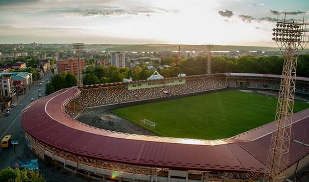 Стадион имени Романа Шухевича в Тернополе, фото ФК Рух Львов