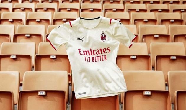 Форма Милана. Фото ФК Милан
