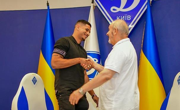 Эрик Рамирес (слева), фото Динамо