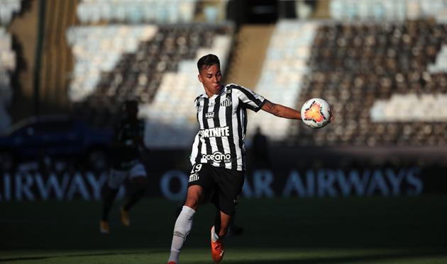 Кайо Жорже, фото ФК Сантос