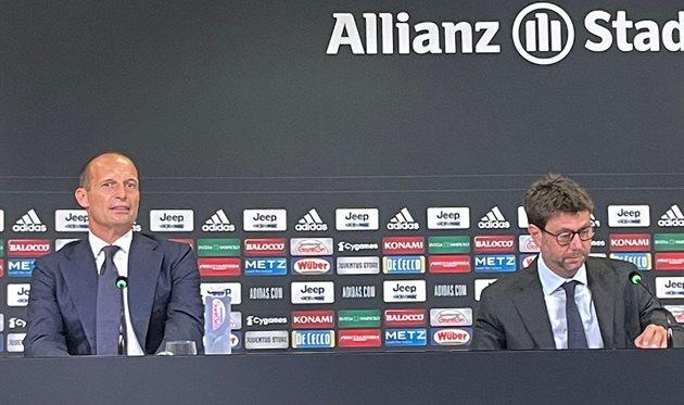 Массимилиано Аллегри и Андреа Аньелли, фото ФК Ювентус