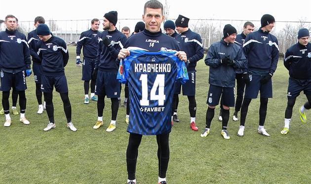 Сергей Кравченко. Фото ФК Черноморец