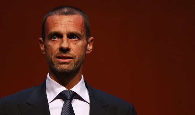 Александер Чеферин, президент УЕФА, Getty Images