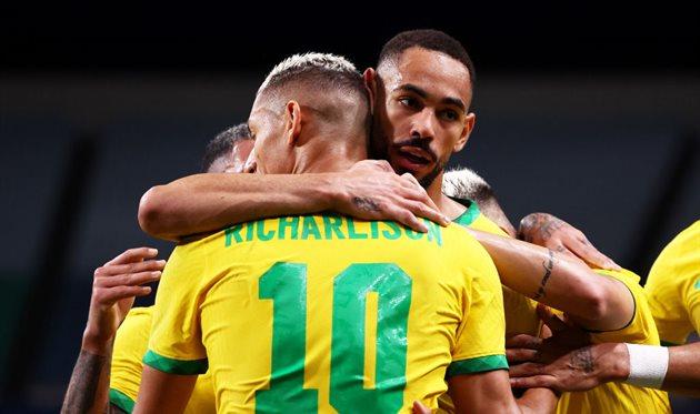 Сборная Бразилии. Фото Getty Images