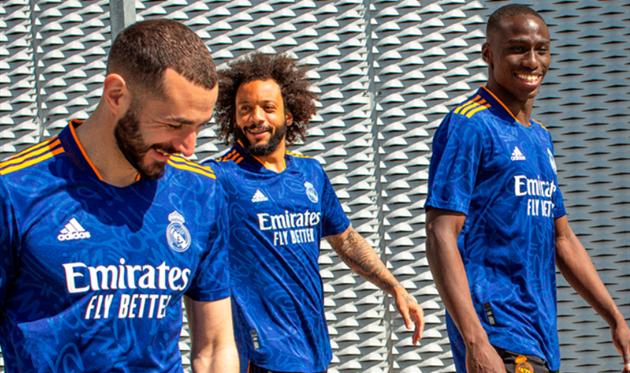 Новая выездная форма Реала, Real Madrid
