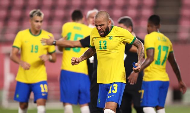 Бразилия - Испания, getty images