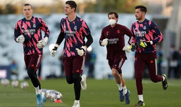 Голкиперы Реала. Фото Getty Images