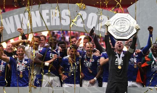 Лестер - обладатель Суперкубка Англии-2021, Getty Images