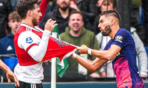 Фейеноорд — Атлетико, twitter.com/Feyenoord