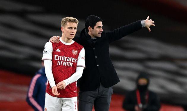 Арсенал завершил процедуру подписания Эдегора — Романо