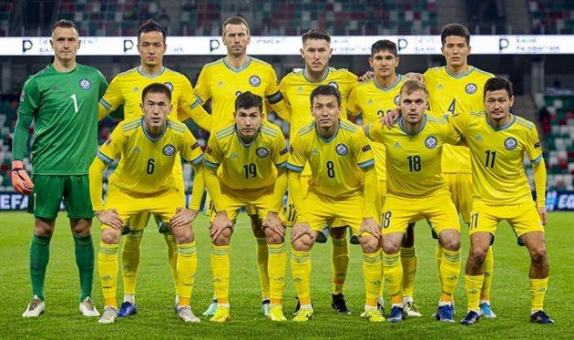 Сборная Казахстана объявила состав на матч с Украиной