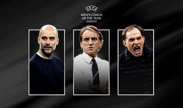 Тухель, Гвардиола и Манчини претендуют на награду лучшему тренеру сезона от УЕФА