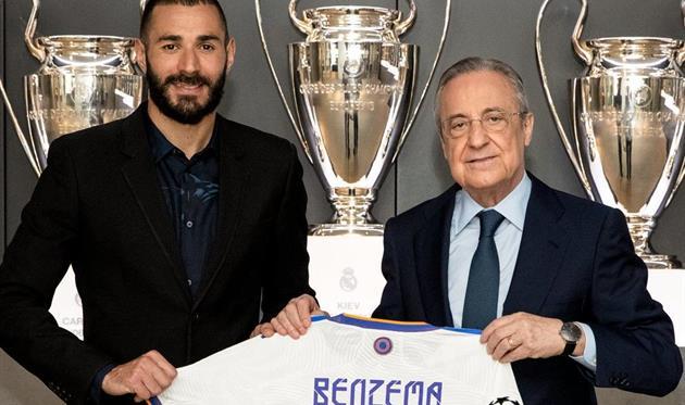 Реал Мадрид продлил контракт с Бензема