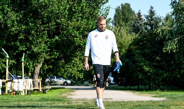 Никита Шевченко сможет сыграть против Рапида