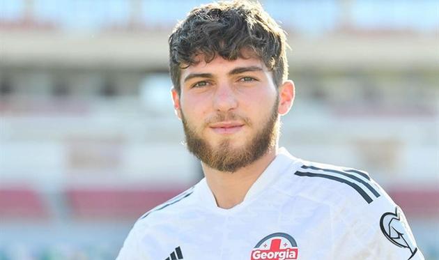 Цитаишвили получил дебютный вызов в сборную Грузии