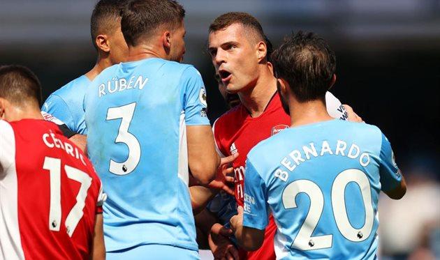 Манчестер Сити — Арсенал 5:0 Видео голов и обзор матча
