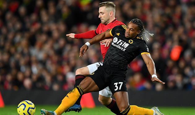 Вулверхэмптон — Манчестер Юнайтед, Getty Images