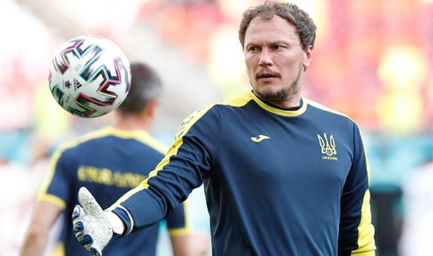 Пятов останется капитаном сборной Украины