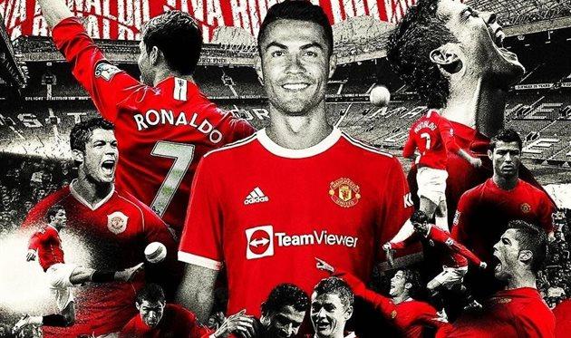Манчестер Юнайтед объявил о возвращении Роналду