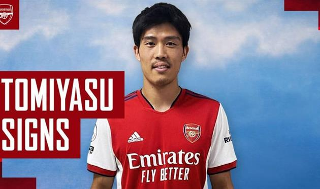 Арсенал объявил о подписании Томиясу