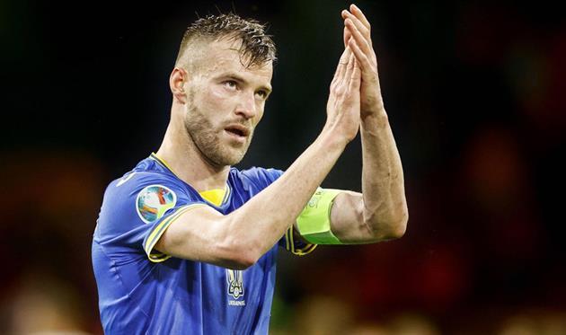Ярмоленко — лучший игрок сборной Украины в матче с Казахстаном по версии WhoScored