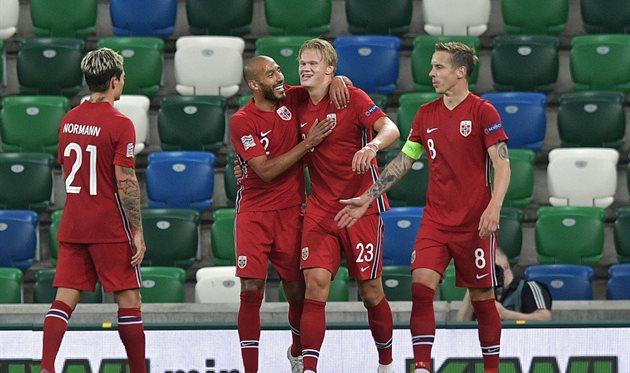 Игроки сборной Норвегии, Getty Images