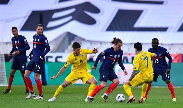 Франция - Украина 1:1, Getty Images