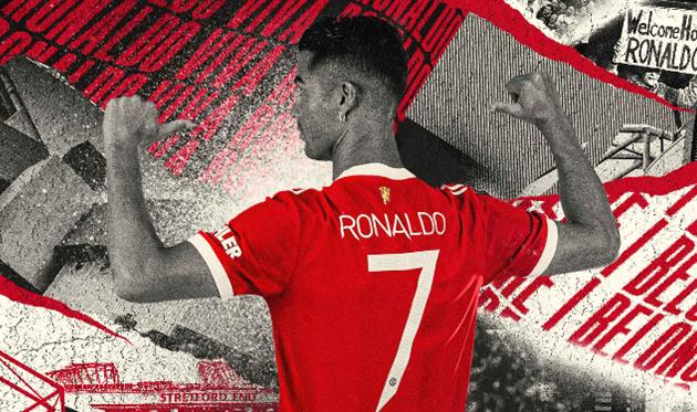 Стало известно под каким номером Роналду будет играть за Манчестер Юнайтед