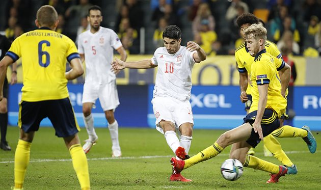 Швеция - Испания, Selección Española de Fútbol