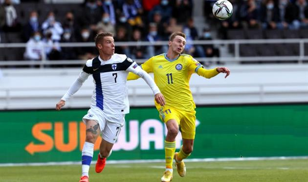 Финляндия одержала минимальную победу над Казахстаном