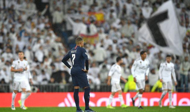 Килиан Мбаппе на стадионе Реала осенью 2019, Getty Images