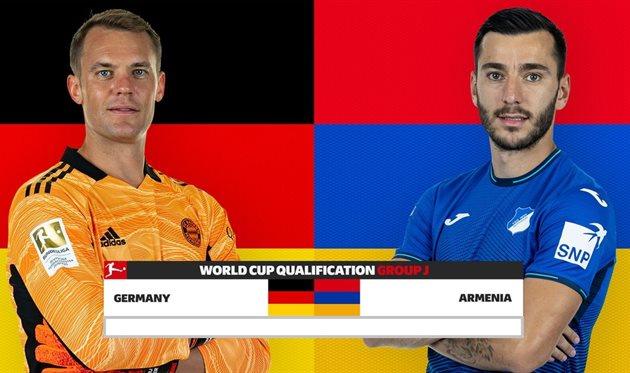 Германия — Армения, Bundesliga.com