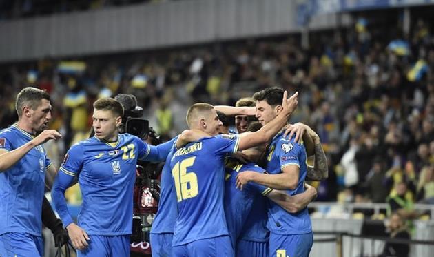 Игроки сборной Украины, фото УАФ