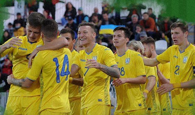 Сборная Украины U-21 обыграла Армению в матче отбора Евро-2023