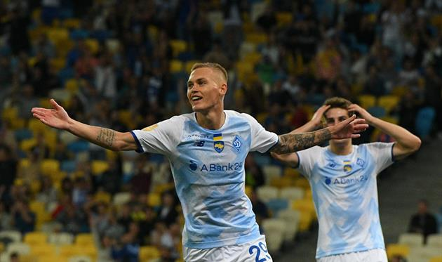Буяльский — лучший футболист Динамо в августе