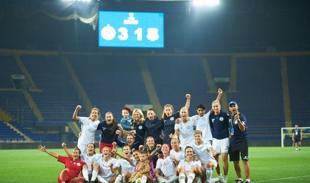 Жилстрой-1 вышел в групповой этап женской Лиги чемпионов