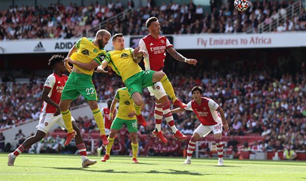 Арсенал - Норвич, Getty Images