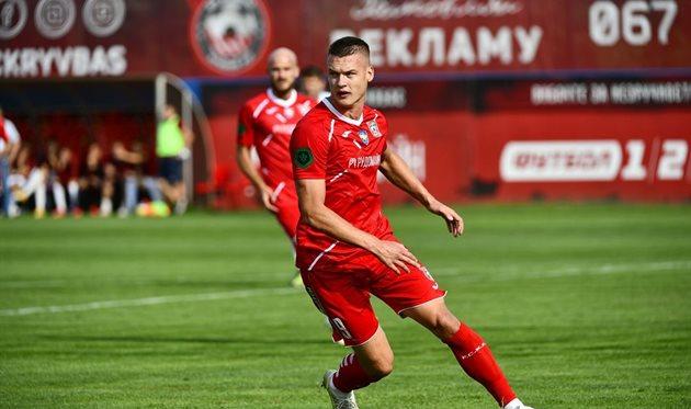 Алексей Хобленко. Фото ФК Кривбасс