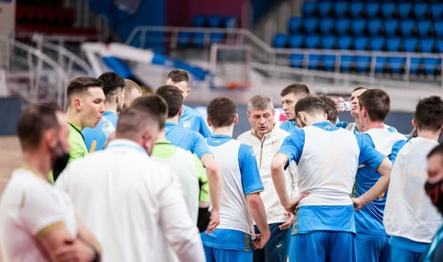 Сборная Украины по футзалу проведет два спарринга с Румынией