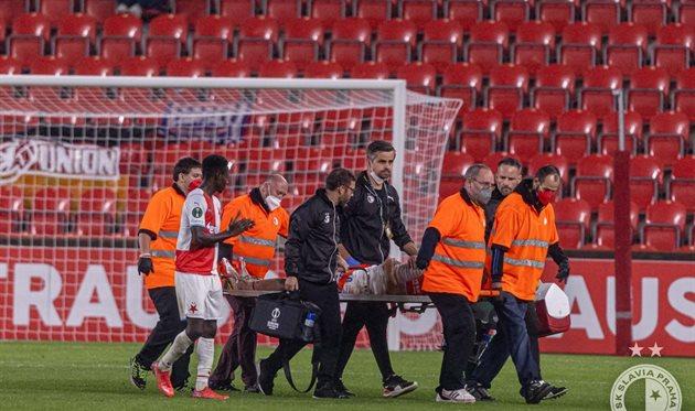 Качараба сломал кость черепа в матче Лиги конференций