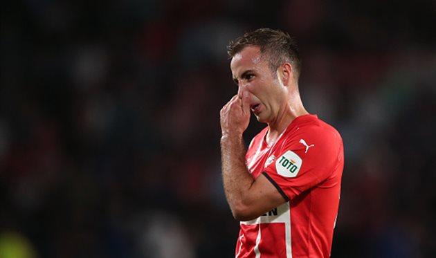 Гетце признан лучшим игроком недели в Лиге Европы