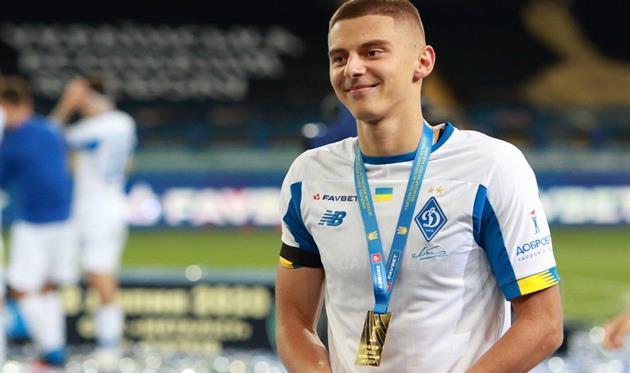Виталий Миколенко. Фото ФК Динамо Киев