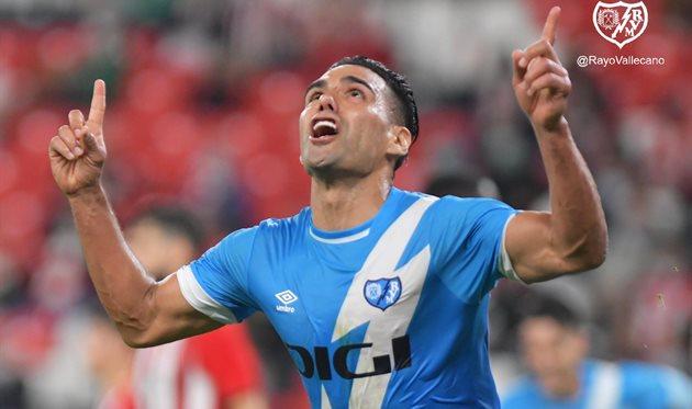 Гол Фалькао принес победу Райо в матче против Атлетика