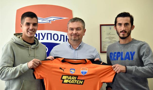 Мариуполь подписал полузащитника сборной Северной Македонии и хорватского защитника