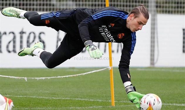 Андрей Лунин, Реал Мадрид