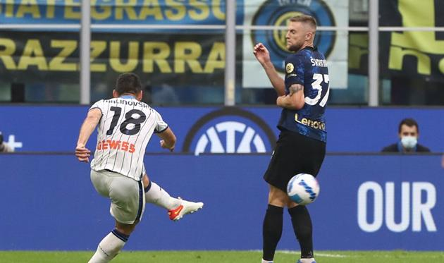 Малиновский — лучший игрок матча Интер — Аталанта по версии WhoScored